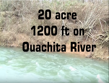 20 acres ouachita river small